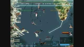 Assaulting Hamburg harbor: Rejected Devils vs Olympia fleet