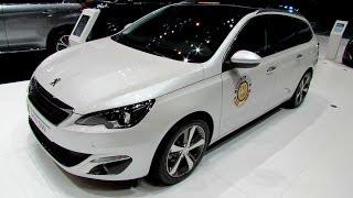Video 2015 Peugeot 308 SW Diesel - Exterior and Interior Walkaround - Debut at 2014 Geneva Motor Show download MP3, 3GP, MP4, WEBM, AVI, FLV Juli 2018