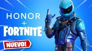 NEW EXCLUSIVE FORTNITE SKIN PACK! HONOR VIEW 20 FORTNITE PACK!
