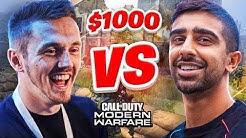 $1000 MODERN WARFARE 1v1 Charity Wager Match (Vikkstar vs Syndicate)