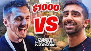 $1000 MODERN WARFARE 1v1 Charity Wager Match (Vikkstar vs Syndicate)