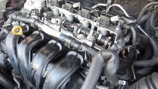 Работа двигателя без масла.