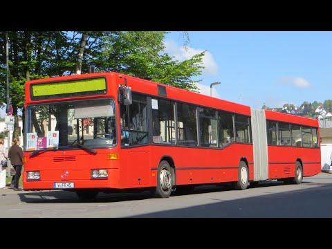 [Sound] Bus Mercedes O 405 GN2 (W-FR 45) der Fa Flutura Reisen GmbH, Wuppertal