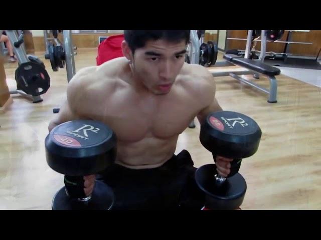 Carlos Silva Atleta IFBB   TRAINING MOTIVACIÓN 2013 #tbt