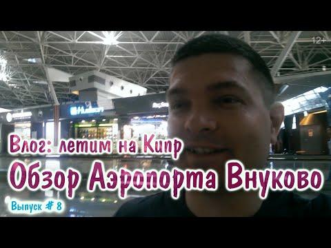 Обзор Аэропорта Внуково - Влог, Летим на Кипр. Цены, Магазины, отзыв