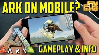 ARK ON MOBILE? ARK: SURVIVAL EVOLVED ON MOBILE - GAMEPLAY AND INFO