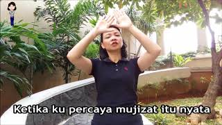 Mujizat Itu Nyata - Maria Shandi In American Sign Language (ASL) Subtitle Indonesia