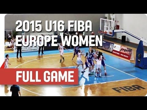 Czech Republic v Slovak Republic - Group E - Full Game - 2015 U16 European Championship Women