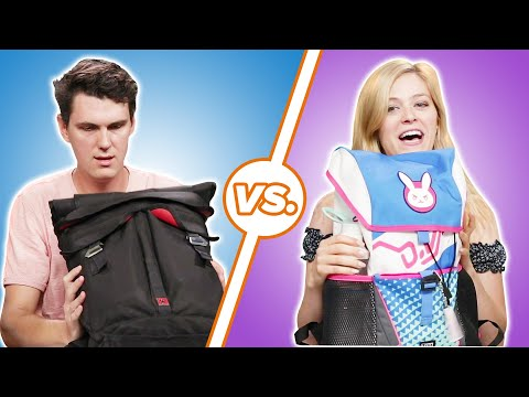 Men and Women Compare Whats In Their Bags