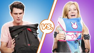 Men And Women Compare What s In Their Bags