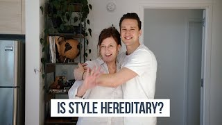 Is Style Hereditary? | My Mom Picks Out My Outfit | OneDapperStreet