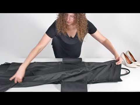 Women's Garment Weekender - Product Demonstration