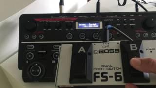 Бос РК-505 і FS-6 регулятор