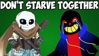 Necros и Dantekris попали в руины   Don't Starve Together