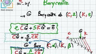 Barycentre 2eme science et info