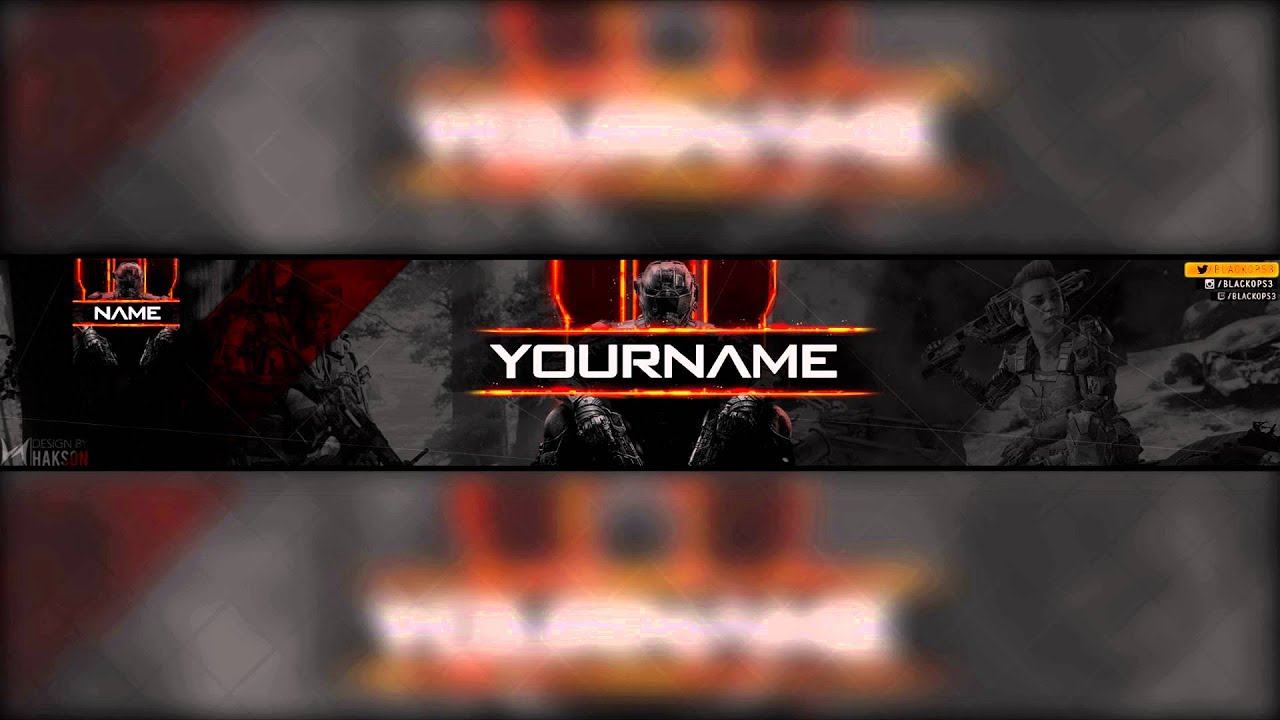 free call of duty black ops 3 youtube banner amp avatar