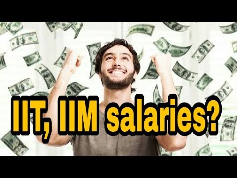Why do Students from IIT, IIM get so high salries?