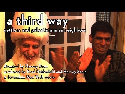 "Trailer: ""A Third Way - Settlers and Palestinians as Neighbors"""