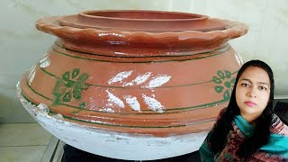 HOW TO COOK FIRST TIME IN CLAY POT HANDI MARIAM 39 S RECIPES