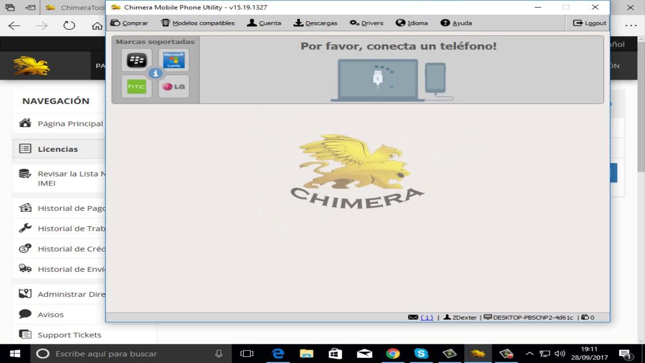 Liberar todos los Modelos de Telefono con Chimera Tool Full Sin Licencia  2017