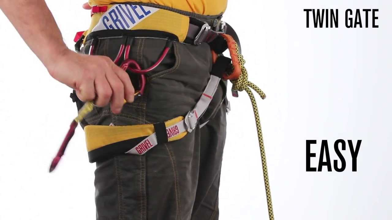 Grivel New Quot Twin Gate Carabiner Quot Youtube