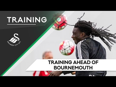 Swans TV - Training ahead of Bournemouth (Away)