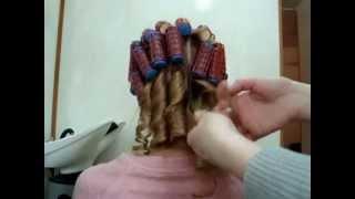 видео Как правильно накрутить волосы на плойку, бигуди