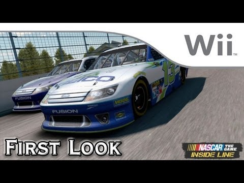 NASCAR The Game: Inside Line - First Look [Wii]