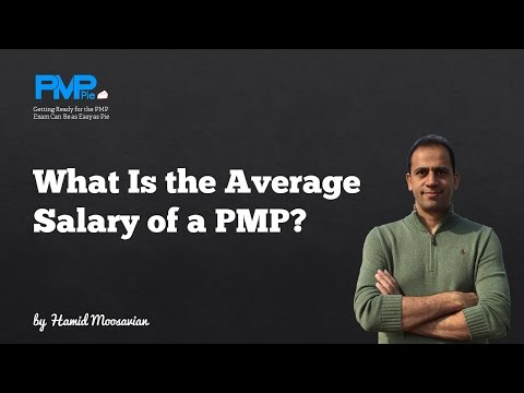 What Is The Average Salary Of Pmp