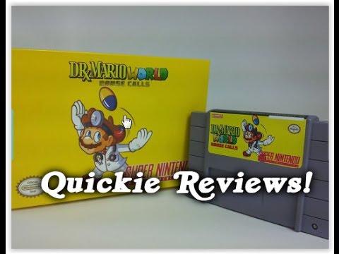 Quickie Reviews - Dr. Mario World House Calls