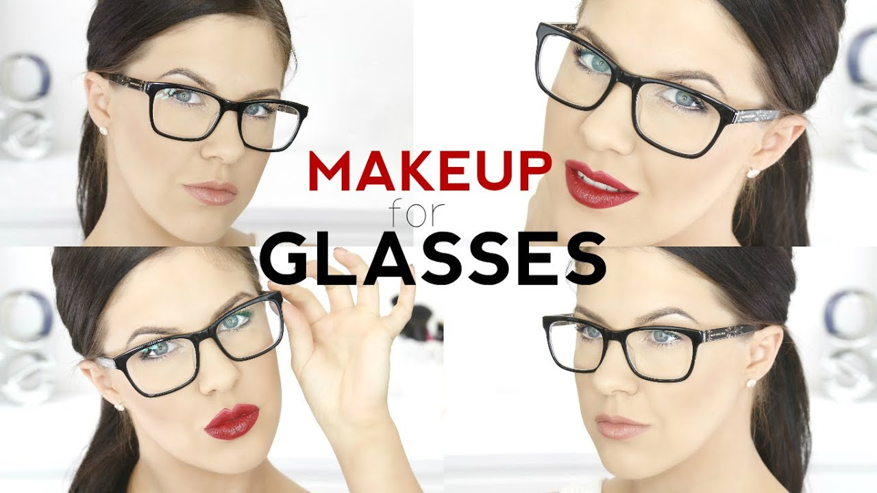How to do eye makeup with glasses