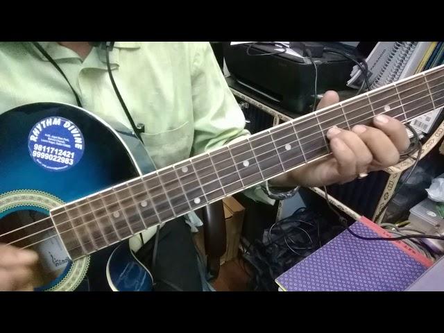 Mere Rashke Qamar Guitar Tab les