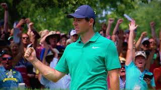 Top 10 shots of the 2018 PGA Championship