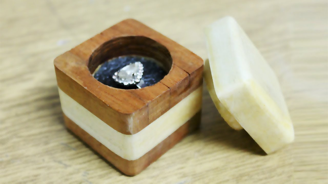 How To Make A Ring Box Out Of Wood Diy