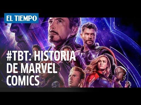 #TBT: Historia de Marvel Comics