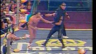 ULTIMA LUCHA DE ABISMO NEGRO EN TV - RESUMEN REY DE REYES 2009 PART 1