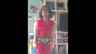 Mario sings Hulk Hogan Theme Song