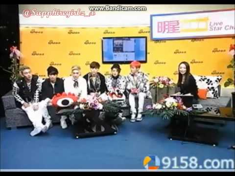 131111 NU'EST-M Sina China Live Chat FULL