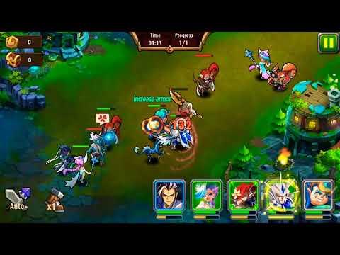 Magic rush heros island crusade level 1