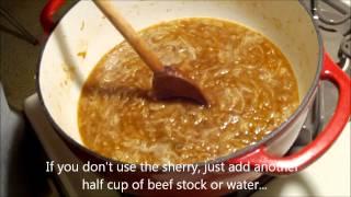 Making French Onion Soup.wmv