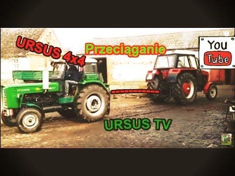 Przeciąganie traktorów czyli Ursus 912 vs Ursus C-360 i C-360 4x4