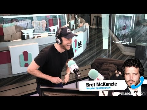 Bret Mckenzie On The Arrested Pig