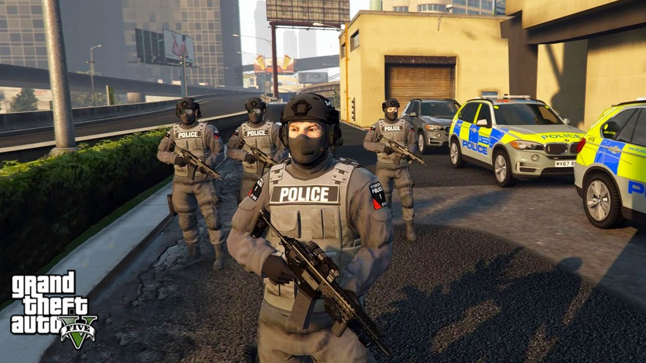 Counter Terrorism CTSFO Hostage Situation! (GTA 5 LSPDFR Mod #300)