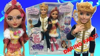 EVER AFTER HIGH EPIC WINTER DARING CHARMING & ROSABELLA BEAUTY REVIEW - NEW EAH DOLL 2 PACK