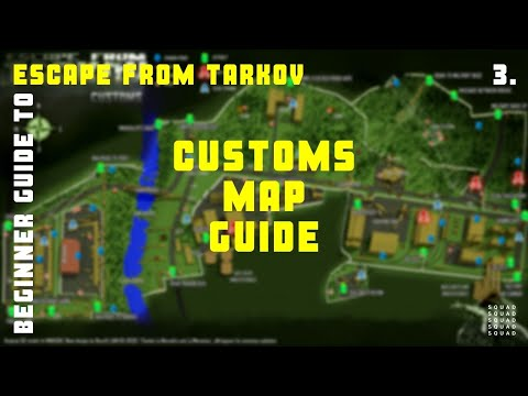 Best Camping Spot In Customs 8 Escape From Tarkov Tutorial Youtube