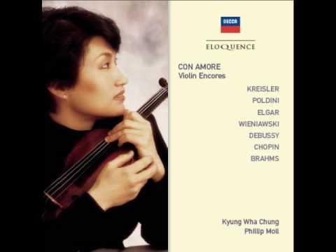Kyung Wha Chung - Wieniawski - Scherzo Tarantella