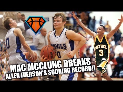 Mac McClung BREAKS ALLEN IVERSON's Scoring Record in LAST EVER Home Game!! | Back to Back 41pt Games