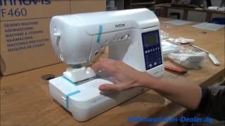 видео Швейная машина Brother Innov-is F460