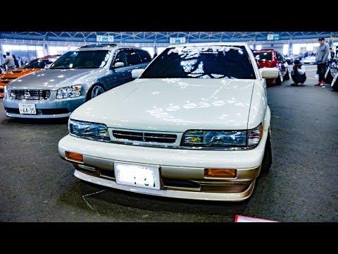(4K)NK SPIRIT NISSAN F31 LEOPARD 日産レパード F31系 カスタム 旧車 - NAGOYA AUTO TREND 2019
