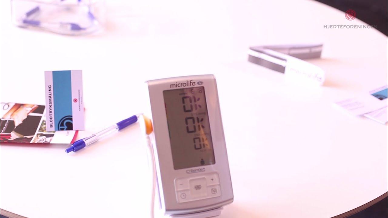 måle blodtryk hvilken arm